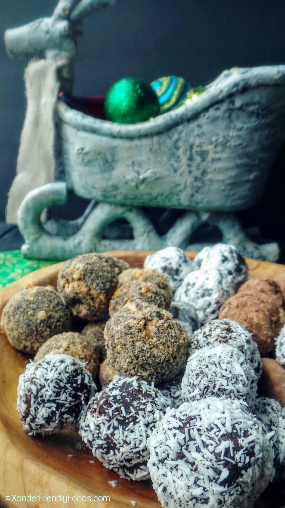 Two Step Truffles {vegan, nut-free + gluten-free} · Allergylicious