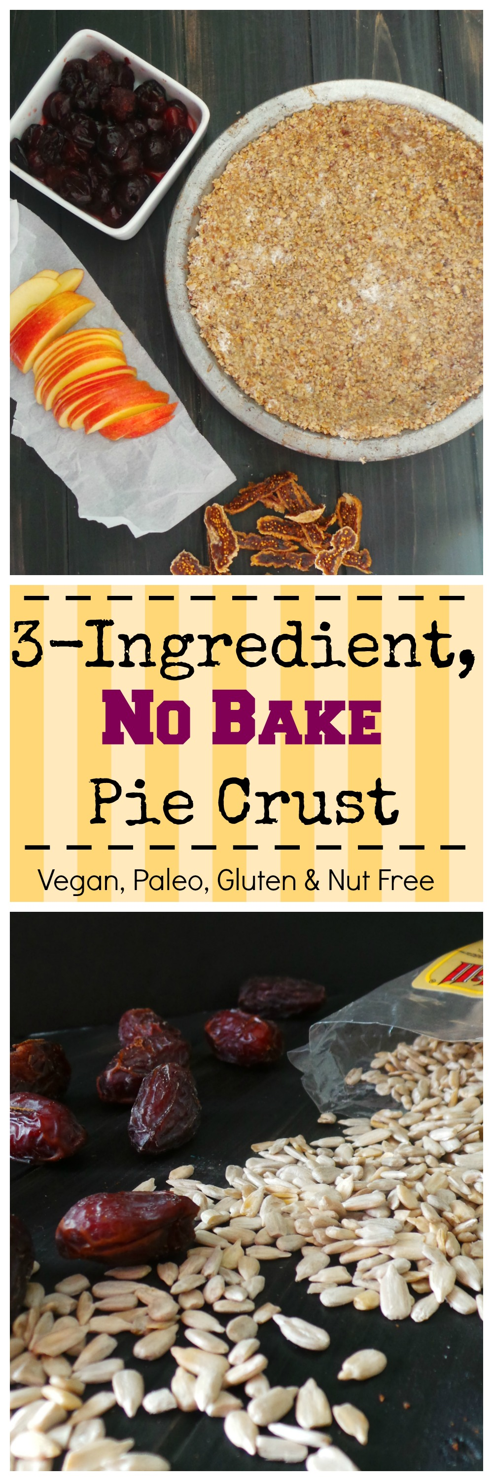 No Bake Pie Crust