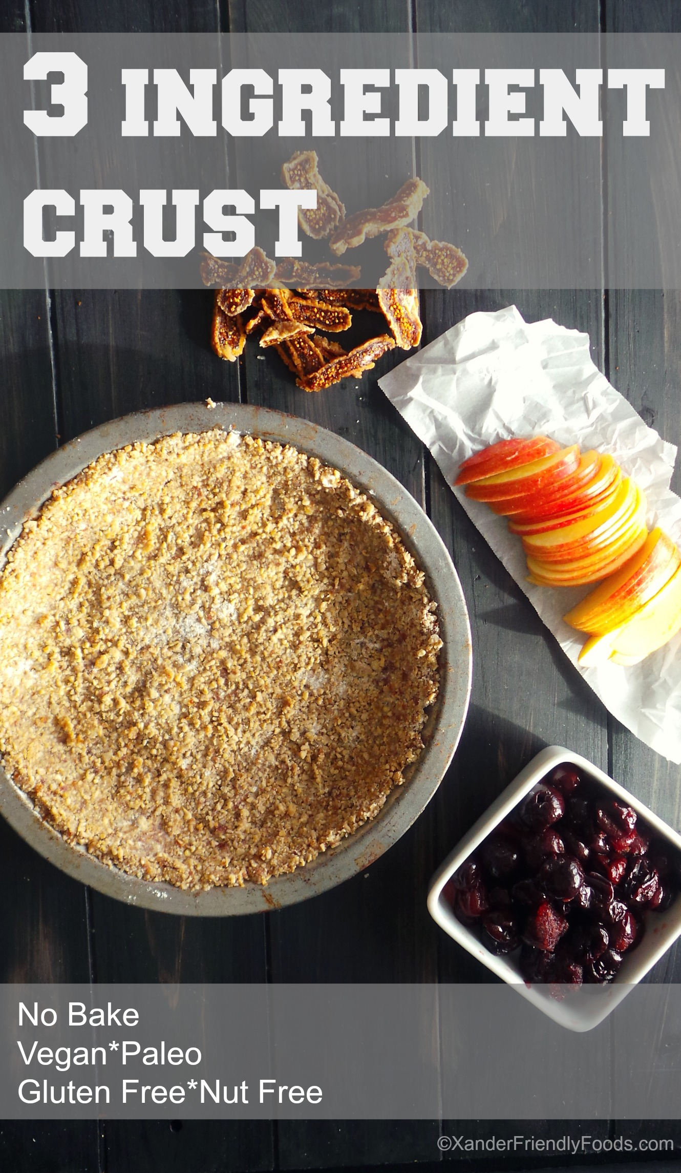 pie crust no bake